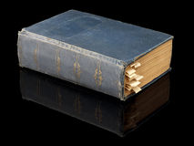 The closed ancient book Royalty Free Stock Photos