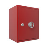 Closed bank safe 3d. 3d illustration Royalty Free Stock Photography