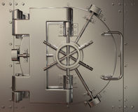 Closed bank vault Royalty Free Stock Image