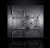 Closed bank vault, 3D render Stock Photography