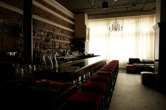 Closed Bar Royalty Free Stock Images