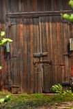 Closed Barn Doors Royalty Free Stock Photo