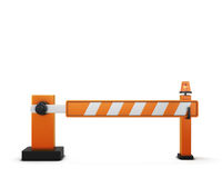 Closed barrier Stock Images
