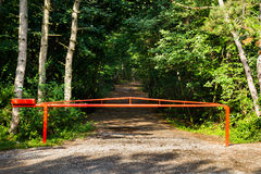 Closed Barrier Royalty Free Stock Image