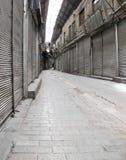 Closed Bazaar. Closed stores in Tehran bazaar Stock Photography