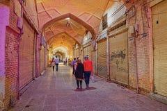Closed Bazar Isfahan Stock Photos