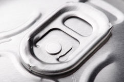 Closed beer can Stock Photography