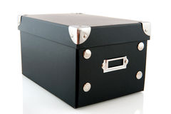 Closed black box royalty free stock photo