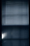Closed blinds Royalty Free Stock Image