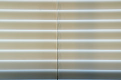 Closed blinds backlit Royalty Free Stock Photography