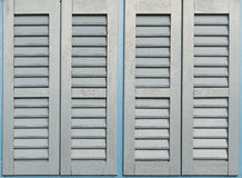 Closed blinds Stock Photography