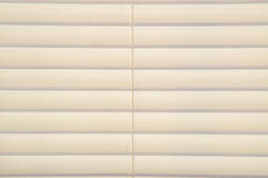 Closed blinds interior lighting Stock Image
