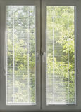Closed blinds Royalty Free Stock Photo