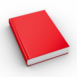 Closed book on white background royalty free illustration