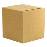 Closed box Royalty Free Stock Image