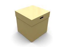 Closed box Royalty Free Stock Photography