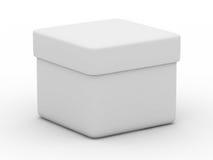 Closed box on white background Stock Image