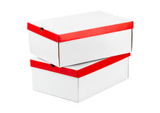 Closed boxes Royalty Free Stock Images
