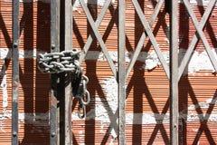 Closed. Brick wall. Stock Photography