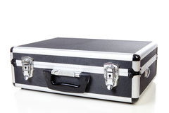 Closed business suitcase Stock Images