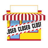 Closed Business Royalty Free Stock Photos