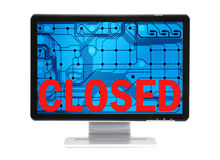 Closed-C Royalty Free Stock Photography