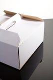 Closed cake box Stock Photo