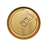 The closed can of beer. Royalty Free Stock Images