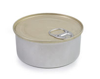 Closed canned bank Stock Images