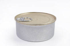 Closed canned food bank Royalty Free Stock Image