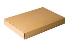 Closed cardboard box Royalty Free Stock Image