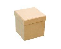 Closed Cardboard Box Stock Photography