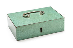 Closed cash box Royalty Free Stock Photography