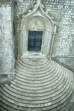 Church with circular steps Royalty Free Stock Photos