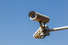 Closed circuit camera for security surveillance Stock Photography