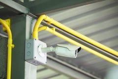 Closed circuit TV camera for security Stock Photos