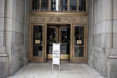 Closed City Hall Royalty Free Stock Photo