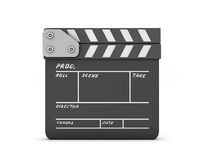 Closed clapboard Stock Image