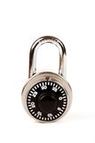 Closed Combination Lock Stock Images