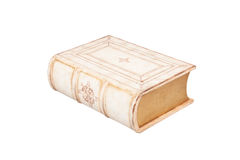 The closed confidential casket in the form of the book Royalty Free Stock Image