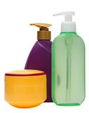 Closed Cosmetic Or Hygiene Plastic Bottle Of Gel Royalty Free Stock Photo