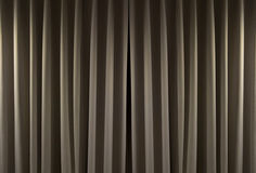 Closed curtain background. Closed curtain in a theater background Stock Photography