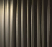 Closed curtain background. Closed curtain in a theater background Royalty Free Stock Photos