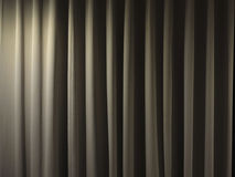 Closed curtain background. Closed curtain in a theater background Royalty Free Stock Photo