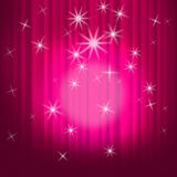 Closed Curtains Background Shows Theatre Royalty Free Stock Photography
