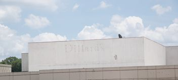 Dillard's Store Closed, Memphis, Tennessee. Stock Image