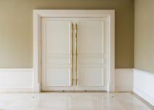Closed door Stock Image