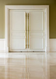 Closed door Royalty Free Stock Image