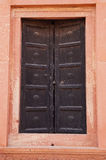 Closed door of Badshahi Mosque  in Lahore,Pakistan. Stock Images