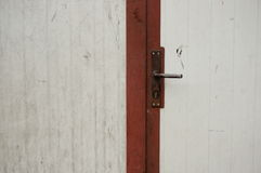 Closed door Royalty Free Stock Photo